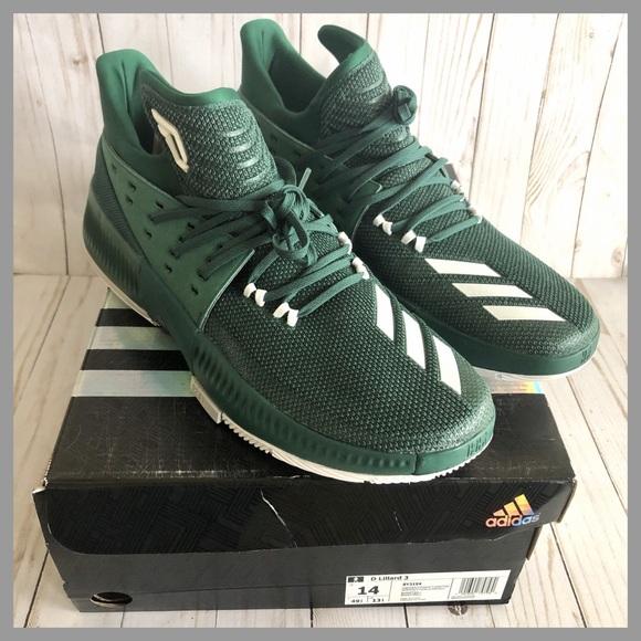 on sale 3ed17 4b650 NWB Adidas D Lillard Dame 3 Basketball Shoes 14
